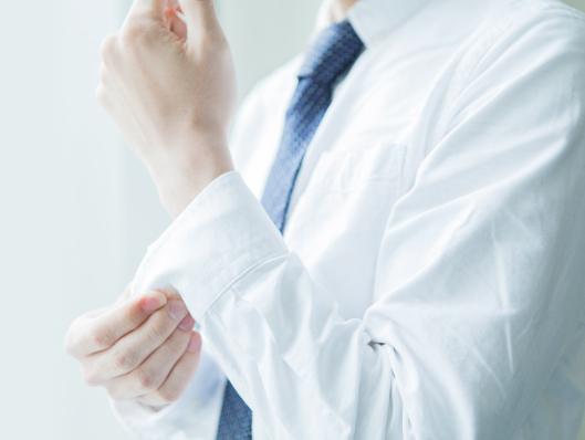 ワイシャツ抗菌防臭加工
